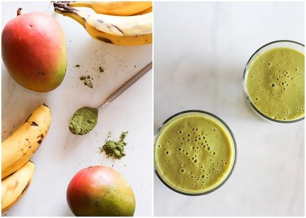 Mango Matcha Smoothie
