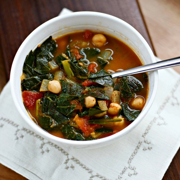 A Modest Kale Soup + 50 Out-of-This-World Kale Recipes
