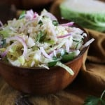 Jicama and Turnip Slaw