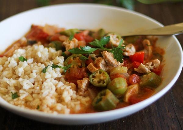 Louisiana-Style Chicken Soup