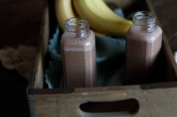 Chocolate Hemp Seed Smoothie