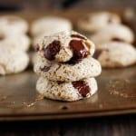 Gluten-Free Chocolate Chip Cookies | grain-free and naturally sweetened