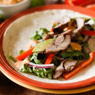 Southwest Grilled Tequila Chicken Wraps @pacificfoods