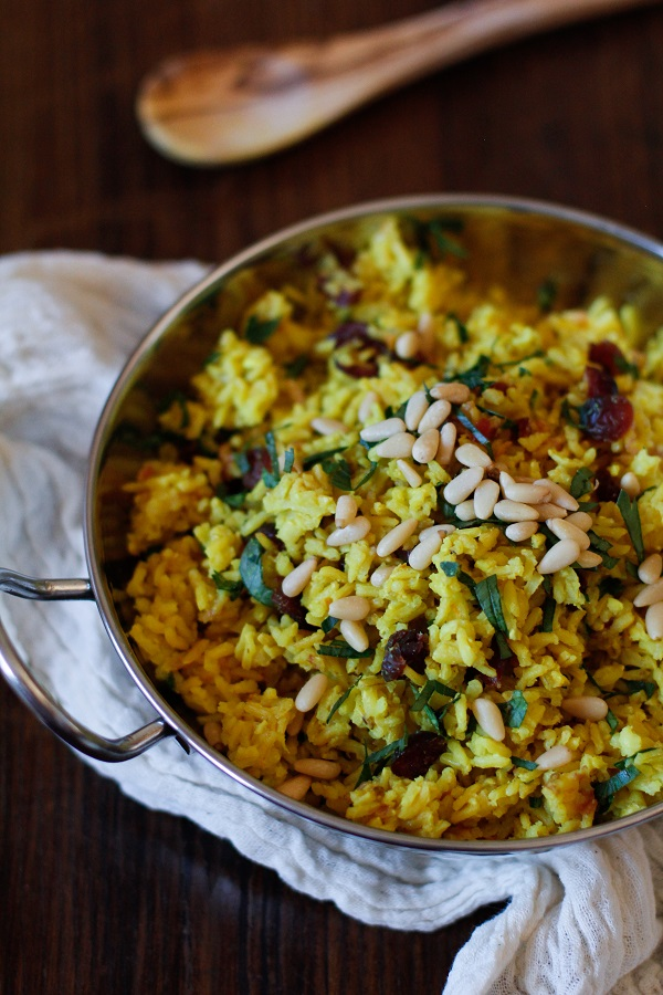 Ginger and Turmeric Aromatic Rice - Basmati brown rice with health benefits!
