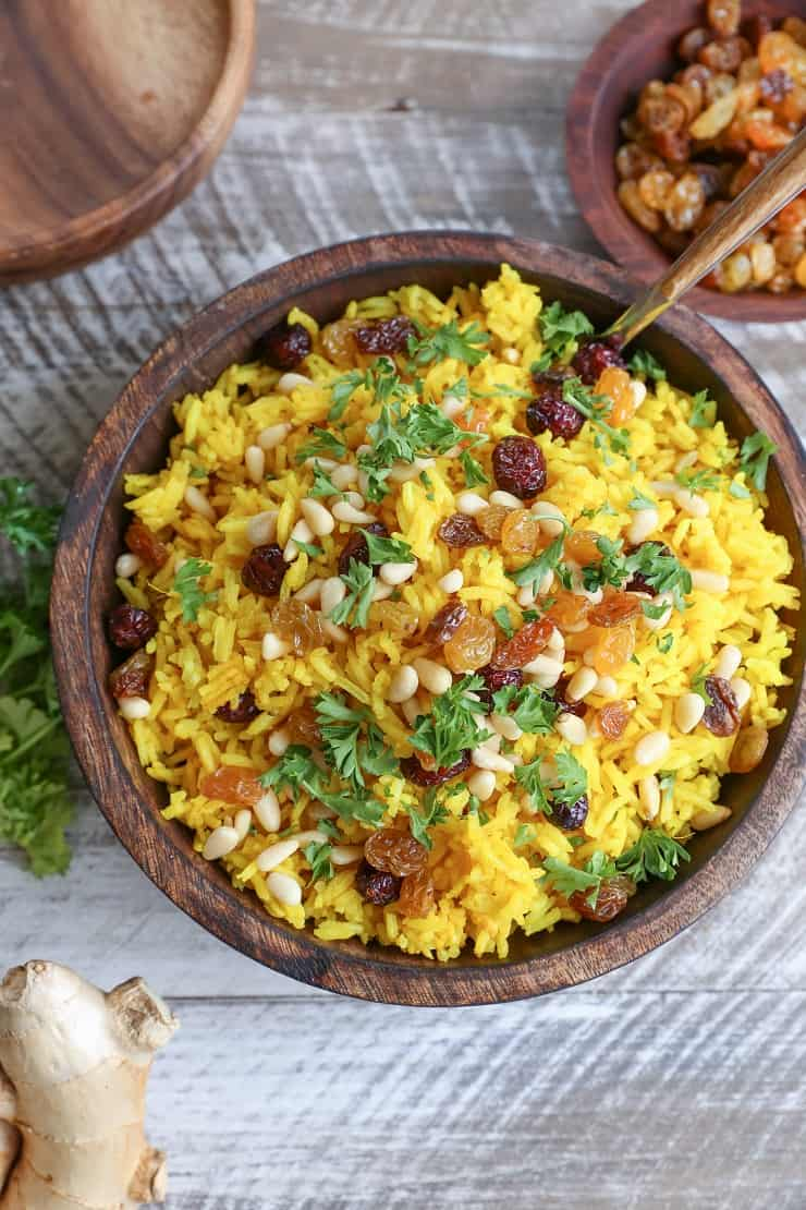 Ginger Turmeric Aromatic Rice