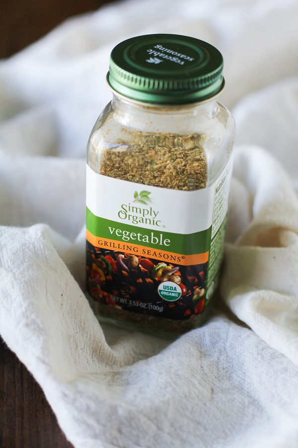 Simply Organic Vegetable Seasoning spice blend - perfect for using on potatoes