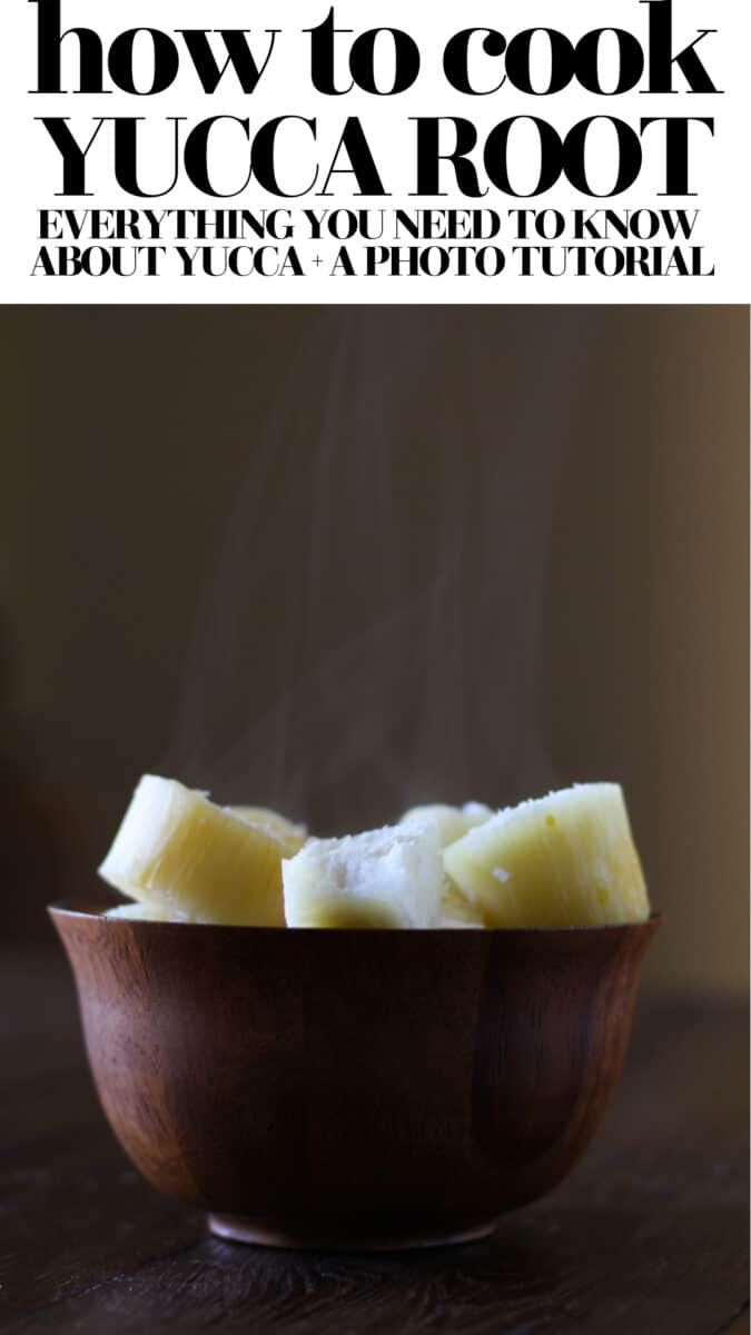 How to Cook Yucca Root - everything you need to know about yucca (a.k.a. cassava) + a photo tutorial