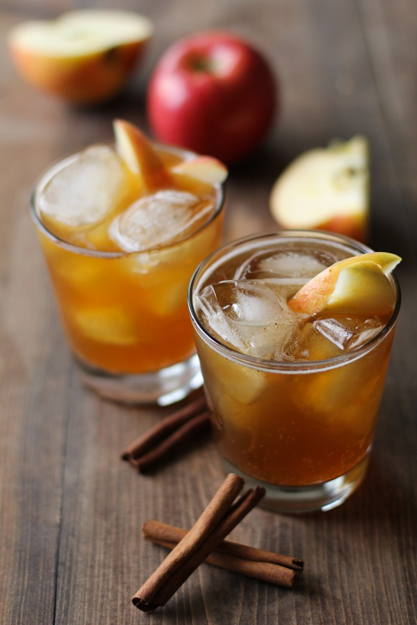 Apple Cider Kombucha - an easyrecipe for flavoring your homemade kombucha