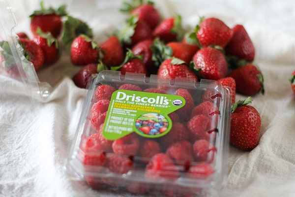 Driscoll's strawberries and raspberries