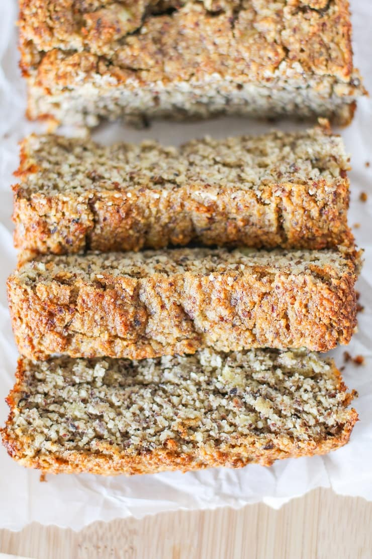 Grain-Free Paleo Banana Bread Recipe - naturally sweetened and gluten free