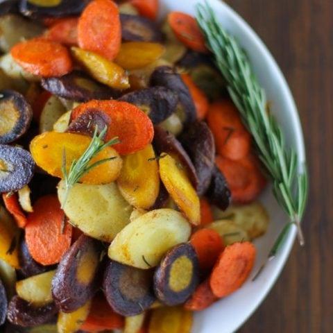 Rosemary and Cumin Roasted Carrots