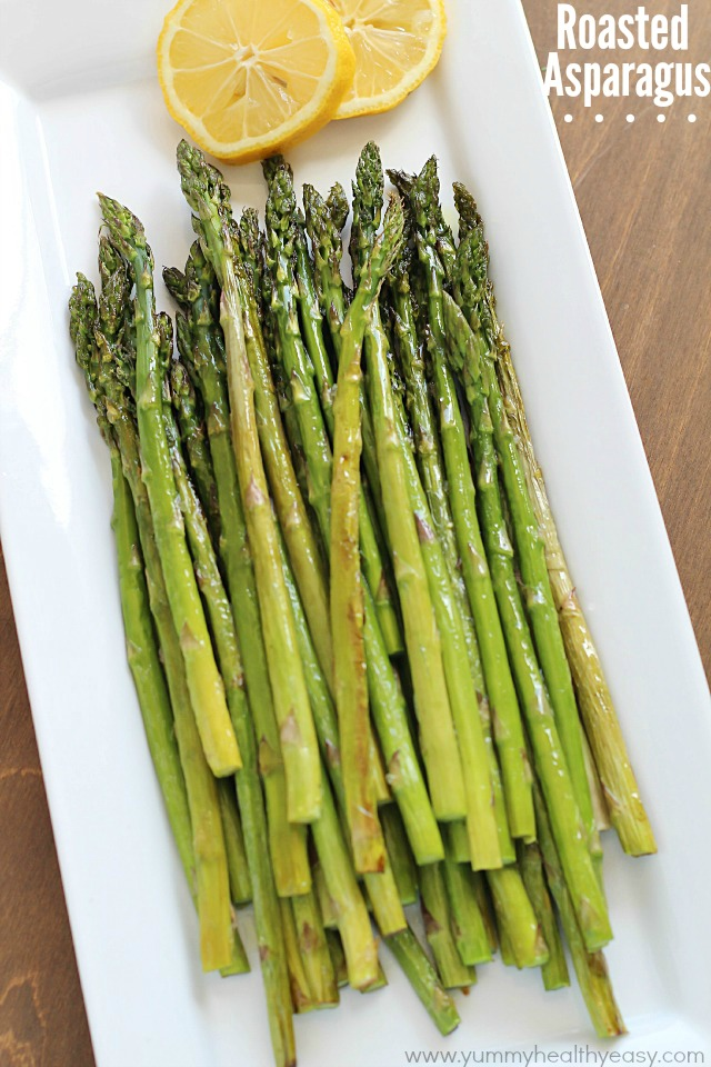 Best Roasted Asparagus #Thanksgiving