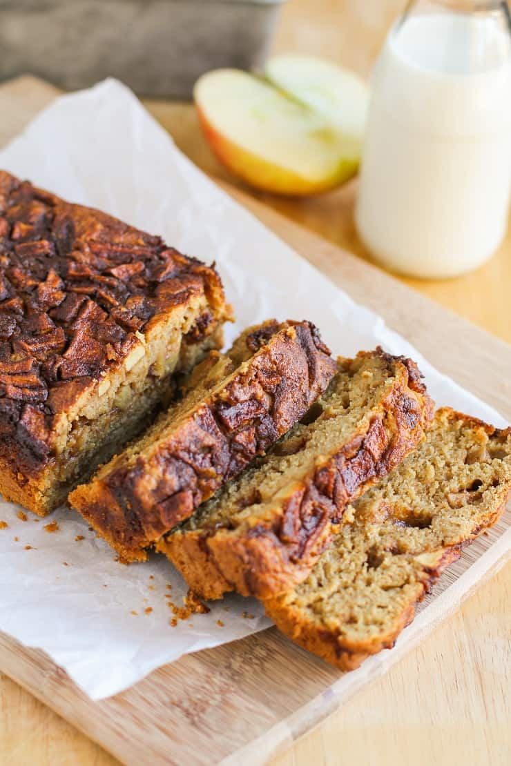 Gluten Free Apple Cinnamon Bread