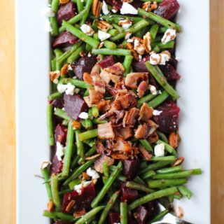 Green Beans and Beets with Balsamic Reduction
