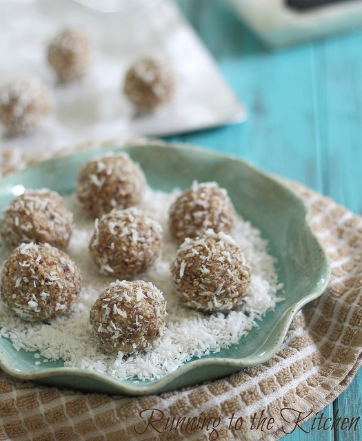 Coconut Nut Balls from Running to the Kitchen #paleo