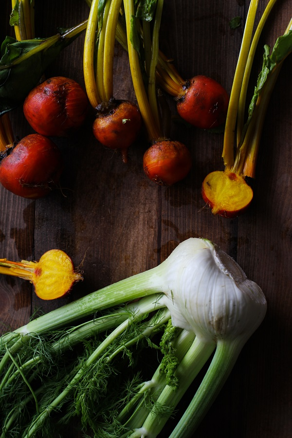Golden Beet and Fennel Soup