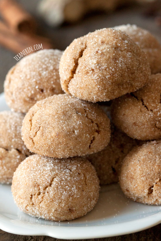 Grain Free Chai Spiced Cookies from Texanerin Baking (gluten free and paleo)