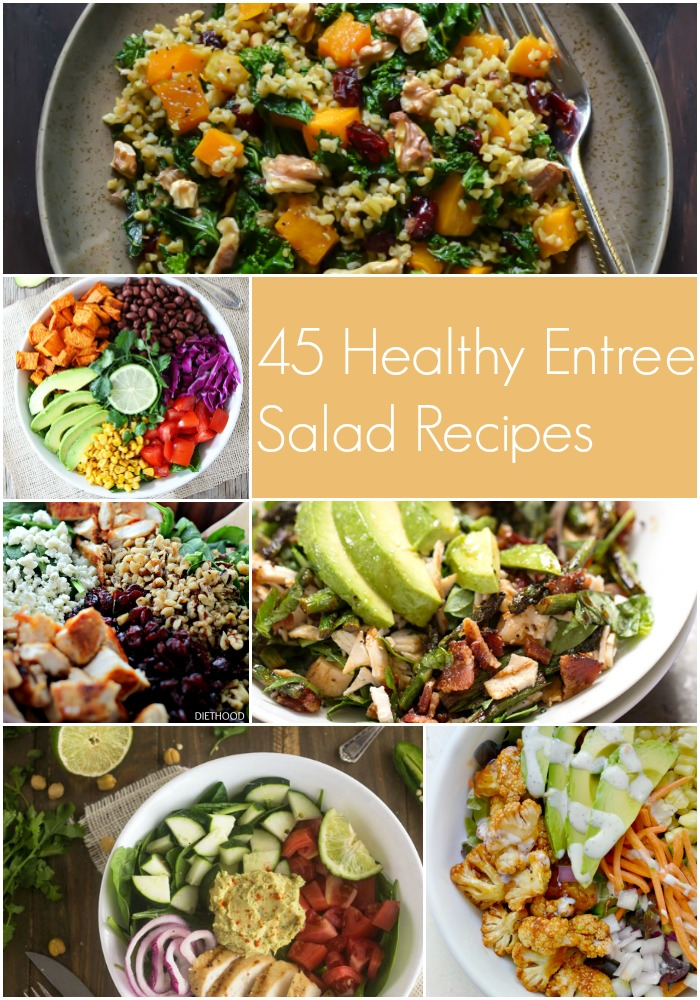 45 Filling and Healthy Salad Recipes @roastedroot