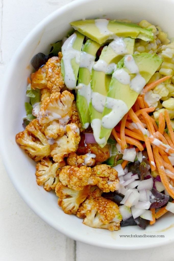 Barbecue Cauliflower Salad from Fork and Beans
