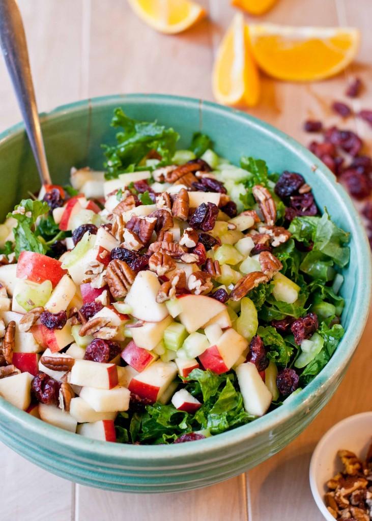 Powerhouse Bulgur Salad with Orange Vinaigrette from NeighborFood