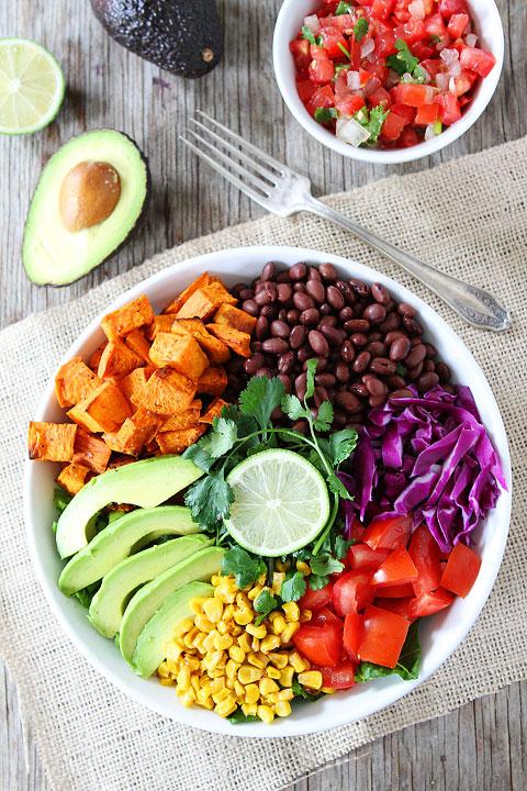 Sweet Potato and Black Bean Salad from Two Peas and Their Pod