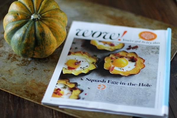 Acorn Squash Egg-in-the-Hole #breakfast #healthy #recipe @roastedroot