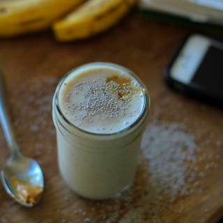Almond Butter Protein Smoothie