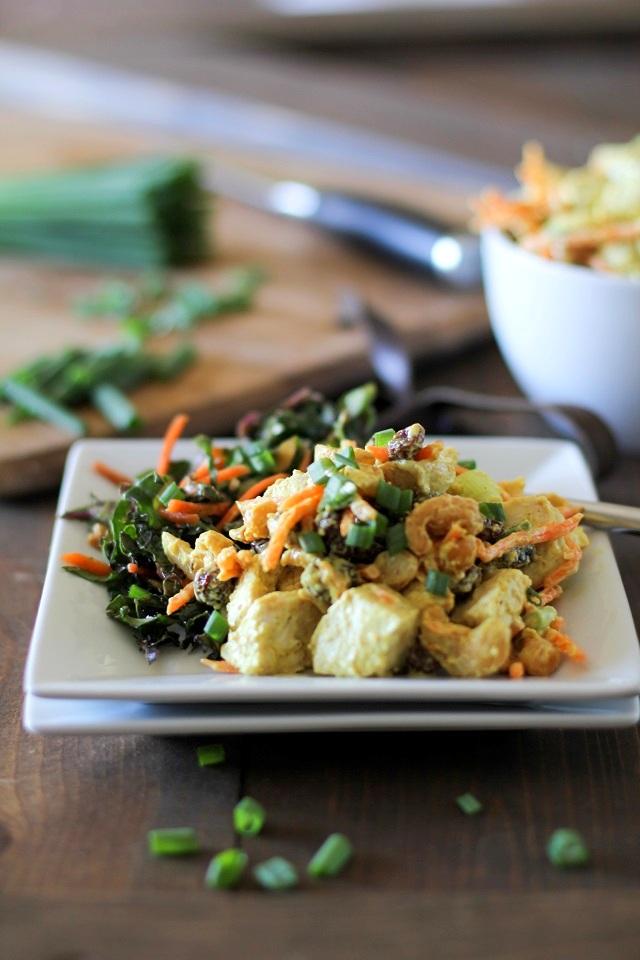 Copycat Trader Joe's Curried White Chicken Deli Salad
