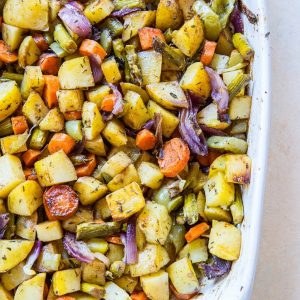 Big Batch Balsamic Roasted Vegetables - delicious roasted vegetables to share with the whole family   TheRoastedRoot.net