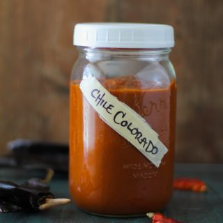 Homemade Chile Colorado Sauce