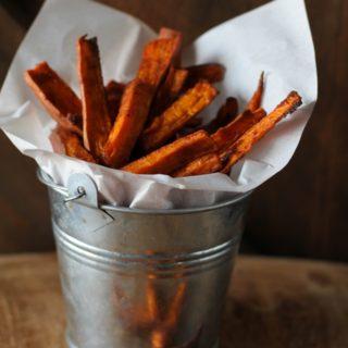 Cinnamon and Coconut Sugar Sweet Potato Fries