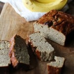 Coconut Flour Banana Bread - grain-free, naturally sweetened, and paleo! | theroastedroot.net #glutenfree @roastedroot