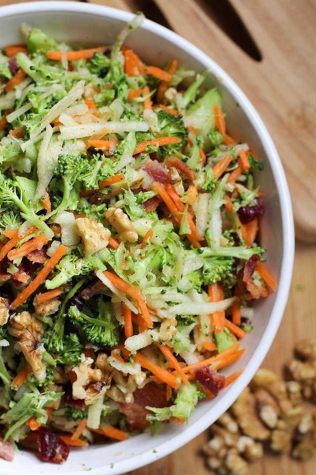 Grated Carrot And Mint Salad With Honey Lemon Vinaigrette Recipe ...