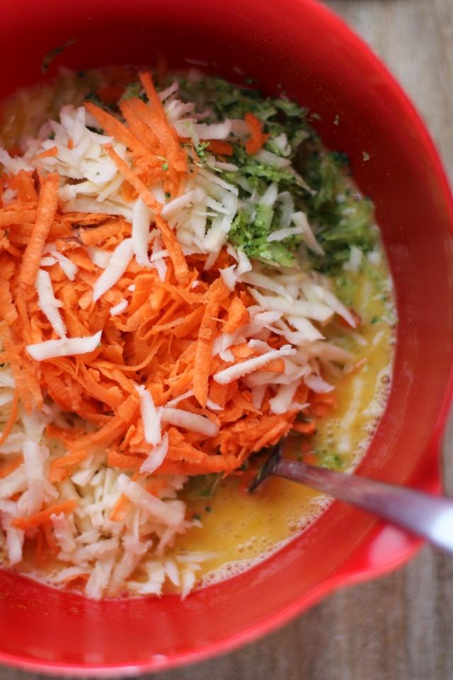 Sweet Potato, Parsnip, and Broccoli Frittata | theroastedroot.net #breakfast #recipe #vegetarian #healthy