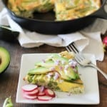 Bacon and Asparagus Frittata | theroastedroot.net #breakfast #brunch #recipe #paleo @roastedroot