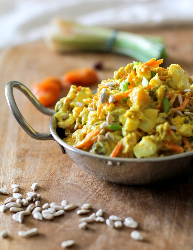 Curried Egg Salad - The Roasted Root