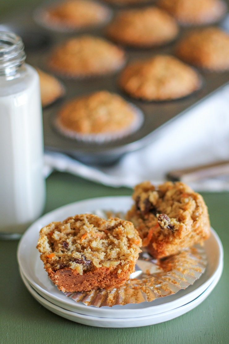 Paleo Morning Glory Muffins | TheRoastedRoot.net #healthy #recipe #glutenfree #paleo #primal