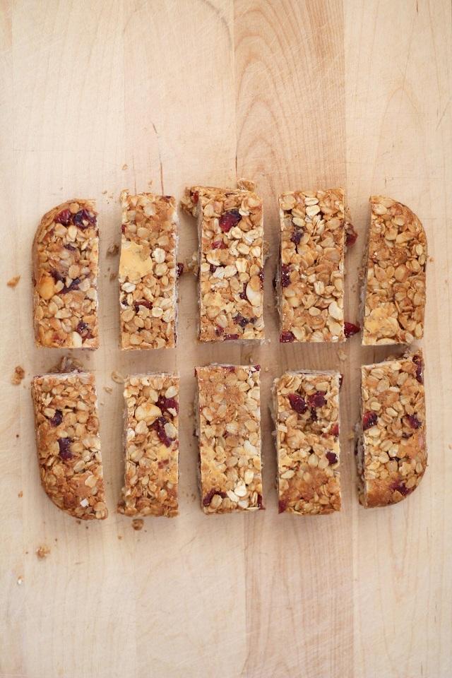 Cranberry White Chocolate Macadamia Nut Granola Bars | theroastedroot ...