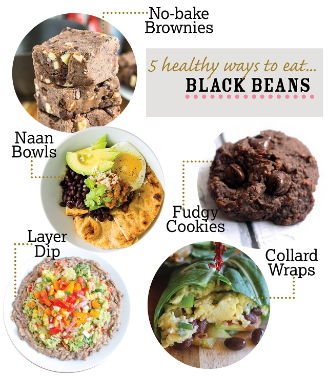 5 Healthy Black Bean Recipes