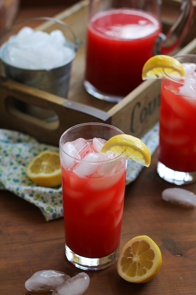 Agua Fresca - a refreshing electrolyte beverage perfect for summer. Naturally sweetened and healthy!   TheRoastedRoot.net #drink #recipe #paleo #healthy