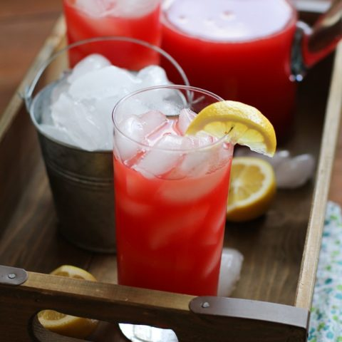 Agua Fresca - a refreshing electrolyte beverage perfect for summer. Naturally sweetened and healthy! | TheRoastedRoot.net #drink #recipe #paleo #healthy