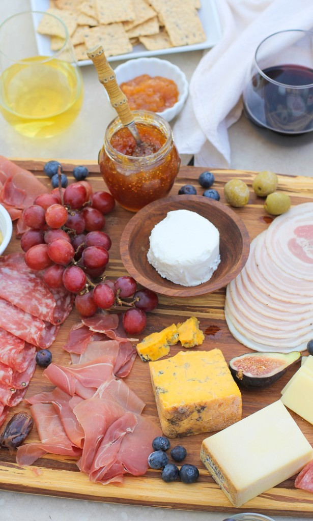Make a charcuterie board for your next get together!