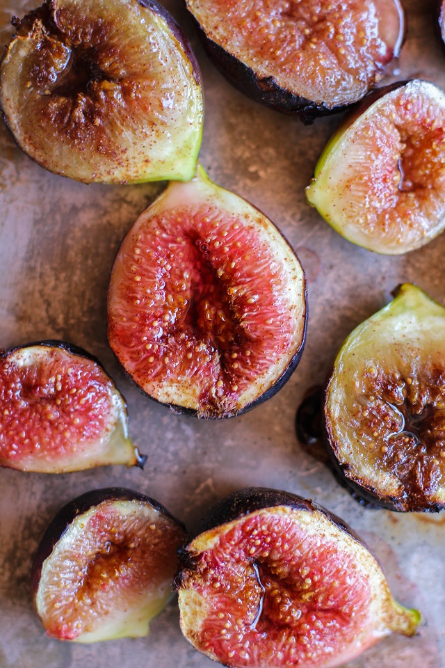 Maple Roasted Figs with Cinnamon | TheRoastedRoot.net #vegan #healthy ...