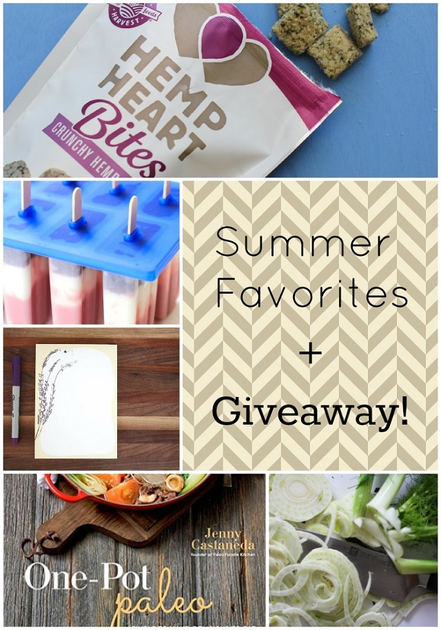 Summer Favorites + Giveaway | theroastedroot.net