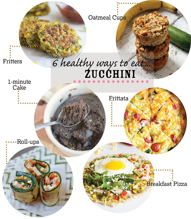 6 Healthy Zucchini Recipes