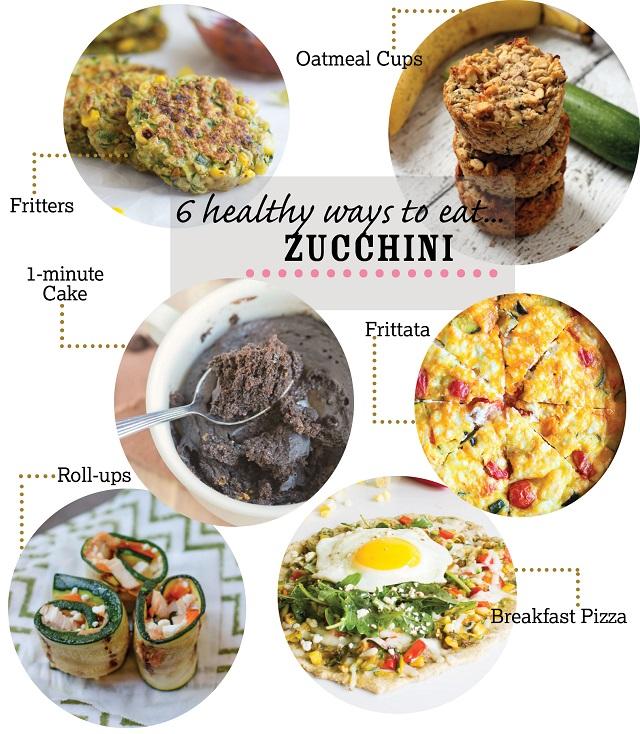6 Healthy Zucchini Recipes