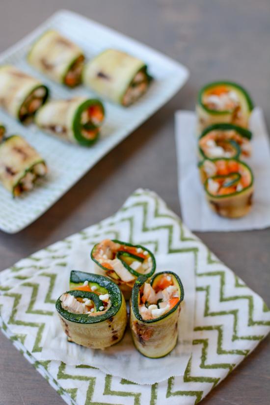 Zucchini Rollups + 6 Healthy Zucchini Recipes | TheRoastedRoot.net