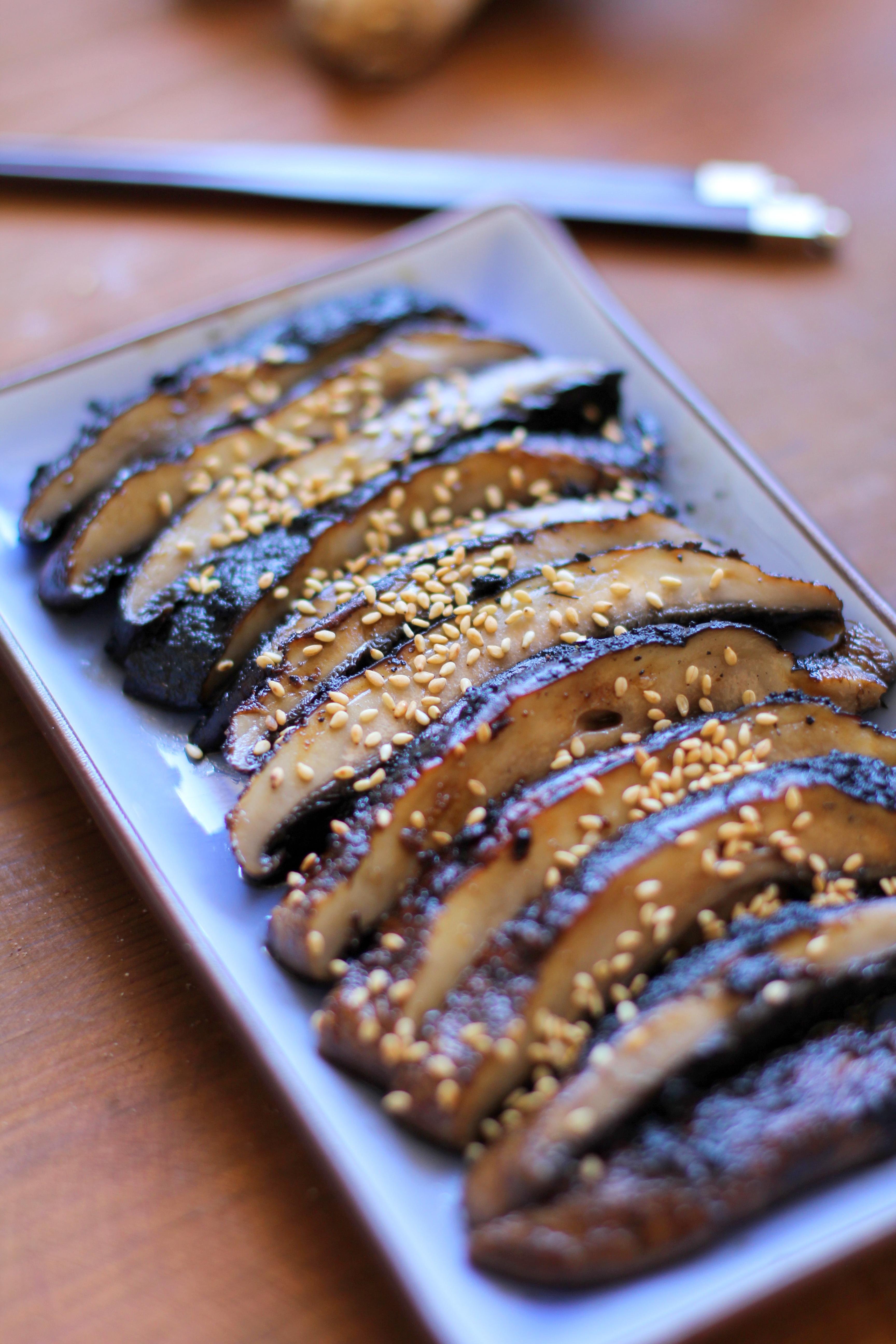 Balsamic-Ginger Grilled Portobello Mushrooms - The Roasted ...