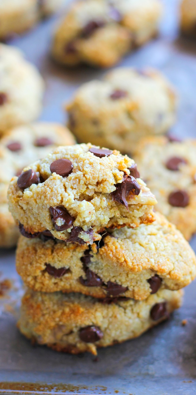 Paleo Chocolate Chip Almond Flour Scones with Orange and ...