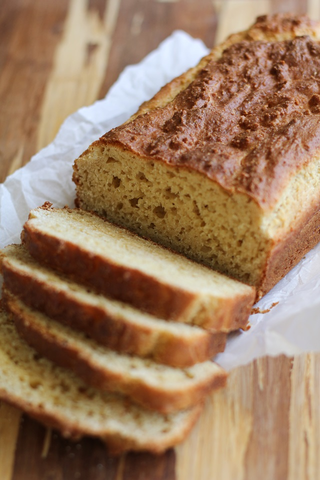Paleo Sandwich Bread - a grain-free, gluten-free rustic sandwich bread recipe | TheRoastedRoot.net #healthy #lunch #recipe